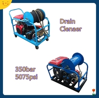 2015 new 350bar portable commerical industrial high pressure 500 bar pressure washer