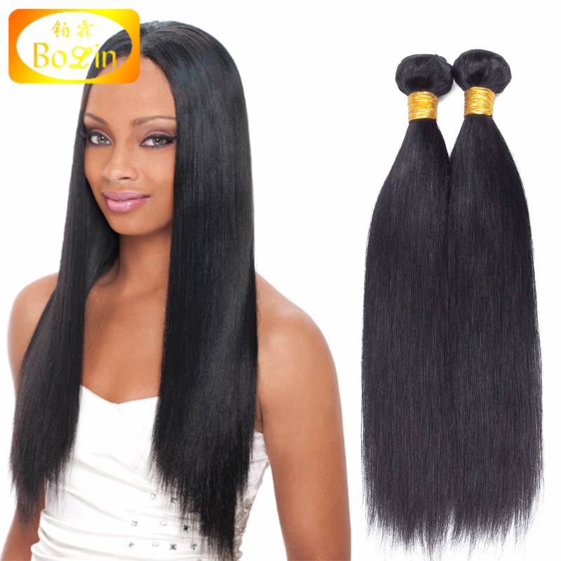 Wholesale 100 Natural Color Straight Raw Virgin Brazilian Human