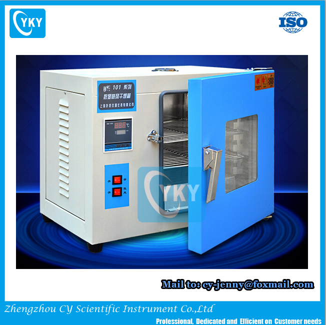 Laboratory 250 Degree Digital Temperature Controlled PCB Drying Oven With Touch Screen