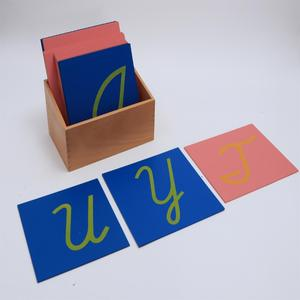 Baby Early Childhood Montessori materials educational Materials Arabic letters