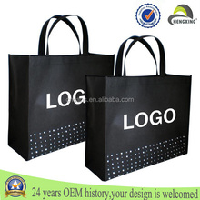 Custom cheap wholesale promotional polypropylene tote bag printed pp non woven fabric bag