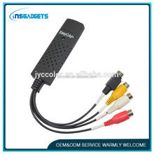 TSJ0035 best selling easy cap usb 2.0 drivers USB 4 Channel Video Capture / DVR