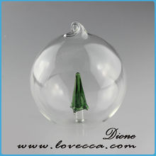 latest fashion clear glass Christmas balls wholesale