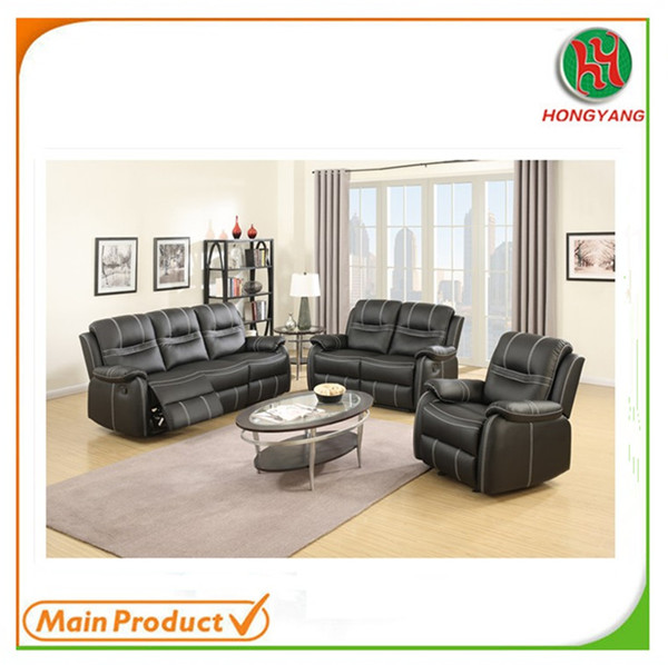 China Sofa Furniture Exalted Edition Recliner Fancy Sofa Set with Bold Stitching HYS-8247
