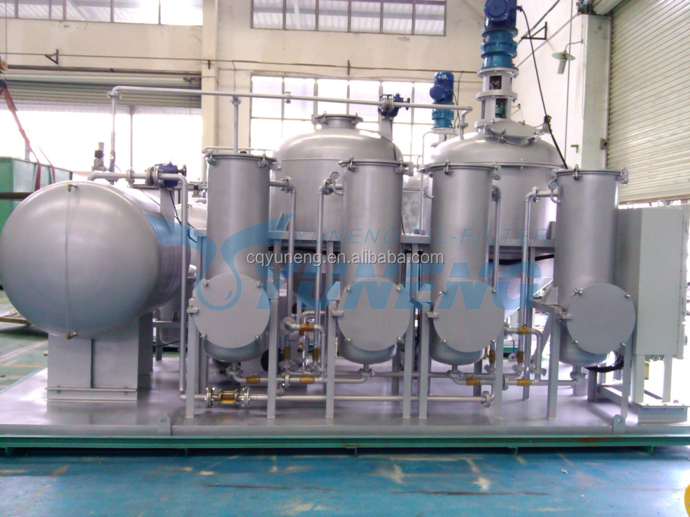 Low Cost CrudeTire Oil to Fuel Oil Recycling Plant (Remove Bad Smell, Change Oil Color)
