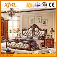 luxury classical bed design furniture