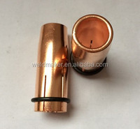 KEMMPI type mig welding torch nozzle with retainer ring