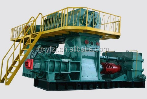 Automatic Cement Concrete Brick Making Machine/Extruder For Sale