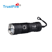 trustfire A9-2 XML-2 aluminum led hand pressing super bright rechargeable flashlight