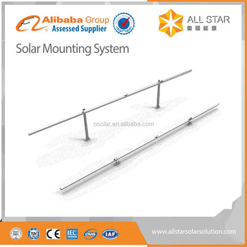 Allstar Ironhide series new technology solar mounting structure aluminum pv bracket home system | solar mounting structure