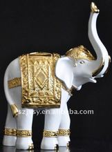 2012 hot-selling resin elephant figurines