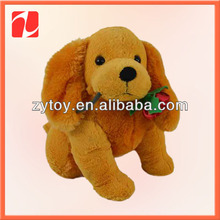 2016 wholesell lovely gift dog plush toy