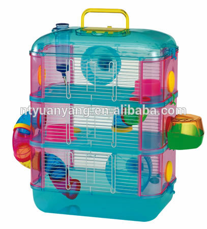 fold plastic hamster cage two flat rat cage house for sale