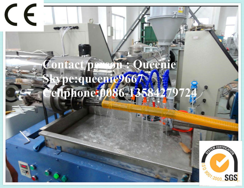 PVC Spiral reinforced pipe making machine