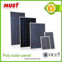 2016 poly solar module/150W poly solar panel for home power system