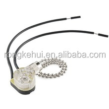 ZS-01 6A 125VAC SPST ON-OFF Ceiling Fan Light Pull Chain Switch