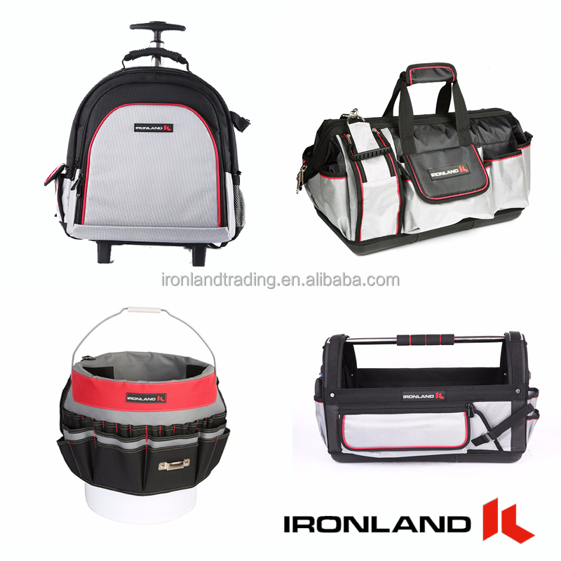 Ironland custom made hot sale canvas electrical computer tool kit bag