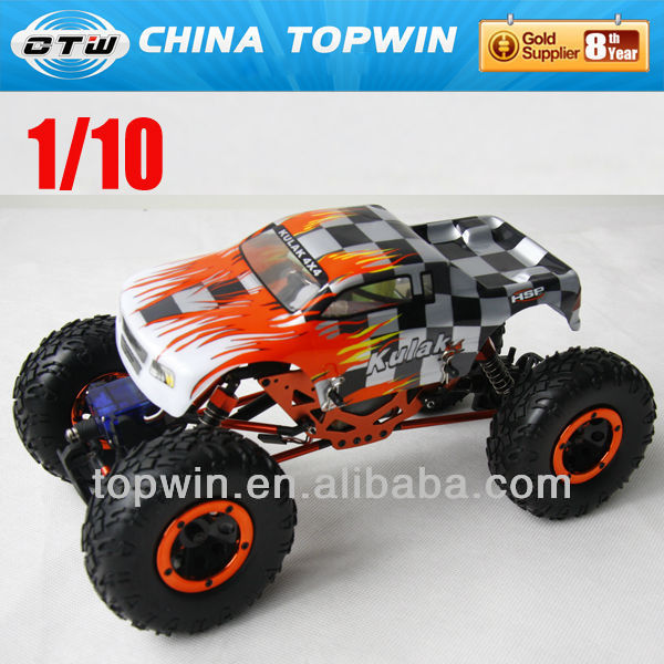 1/10th Scale 4WD Nitro Powered Monster Truck 94188 rc car kits electric