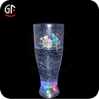 Advertising Gift Plastic Flashing Fashion Lighting LED Cola Glass