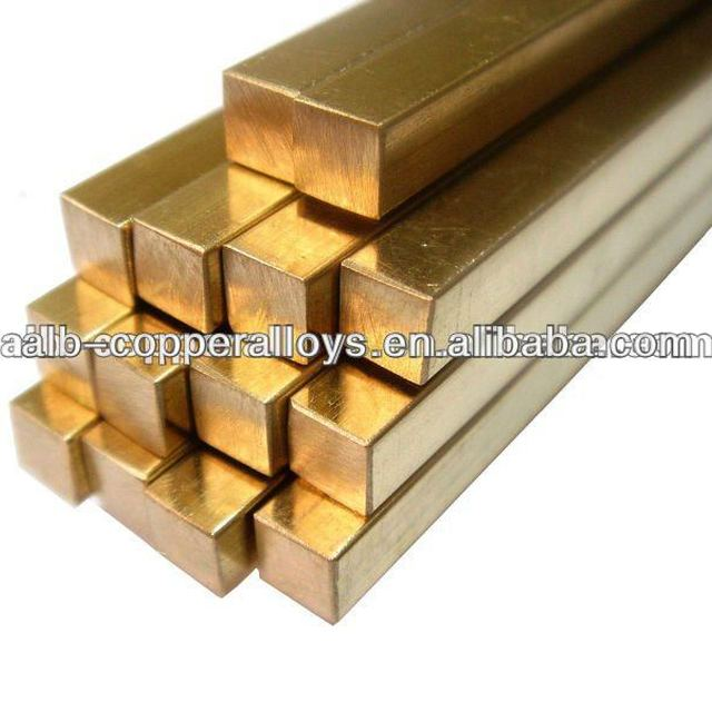 CuNi2CrSi Chromium Copper Square Bar C18000