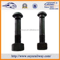 45 # Steel Railway Fish Bolt For GB 11264 Standard Rail