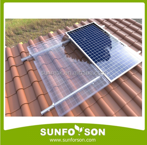 SunRack Solar Energy Mount PV Panel Support Structure