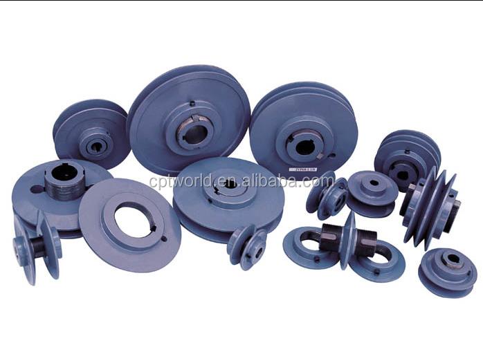 Gray electrophoresis surface mechanical variable speed v belt drive pulley transmission
