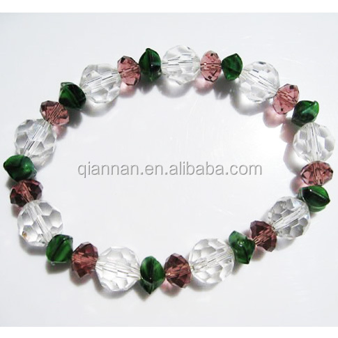 china factory ladies body Jewelry crystal bracelet in one dollar item