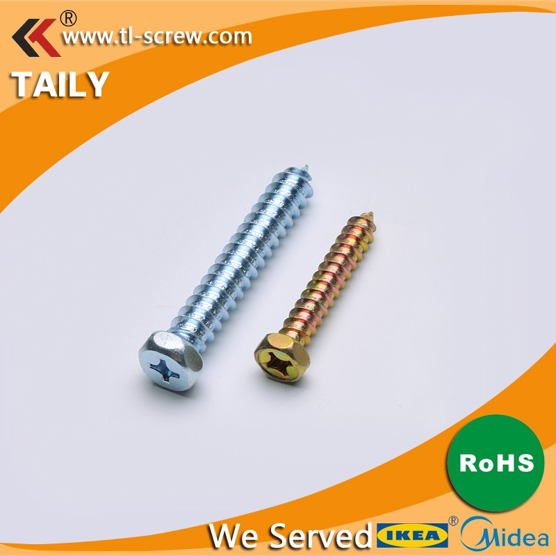 <strong>C1022</strong> Zinc Plated High Quality Coach Wood Screws