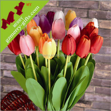 Wholesale eco material pu artificial flower making