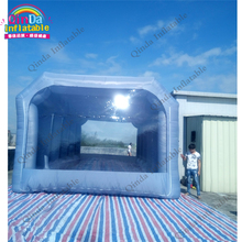 portable inflatable paint cube tent booth for sale inflatable spray booth