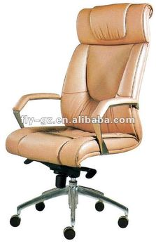 High Back Four Leg Swivel Office Chairs For Sale Manager Ceo Leather Chairs