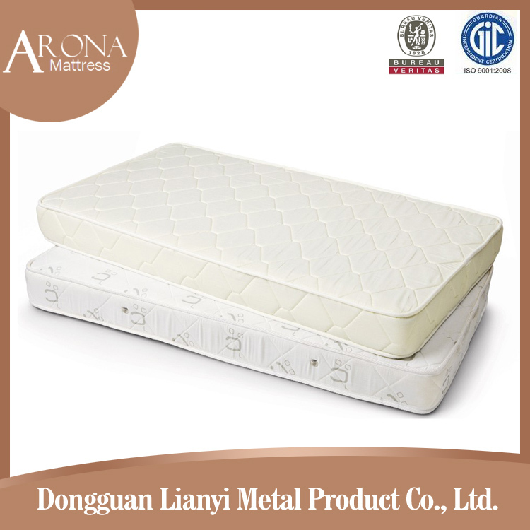 Customized size cot ultra soft individual pocket spring baby mattress