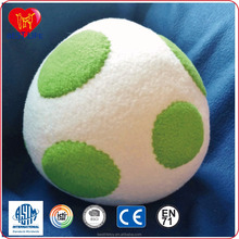 big spot cover soft plush baby rattle ball toys