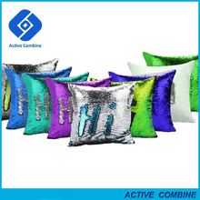 Valentine Day Gifts Color Changing Mermaid Sequin Pillow Wedding Return Gift