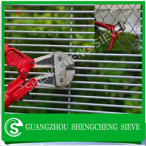 High Security Anti-thief wire mesh,invisible wall,358weld wire fence for sale