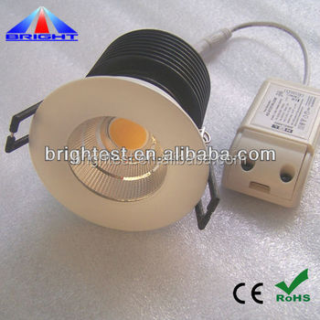5-60W COB LED Downlight,Dimmable LED Downlight, High lumens LED Ceiling Light No Glare CE ROHS