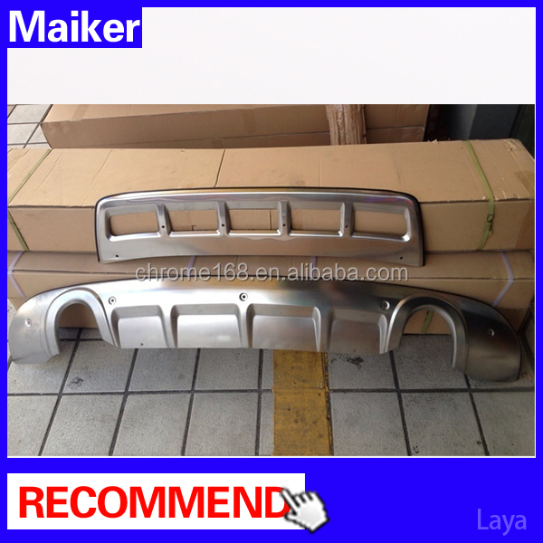 Front and rear bumper protector rear guard for Audi Q5 09+ bumper for Audi accessories from Maiker Auto
