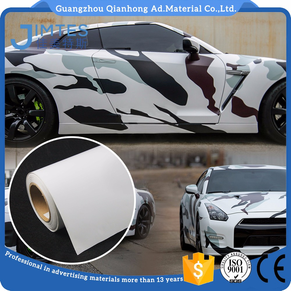 High Quality 140gsm PVC Self Adhesive advertising Car body wrap sticker Vinyl