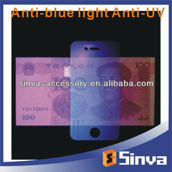 Anti Blue Light Anti UV Screen Protector for Phones and Tablets With Factory Supply