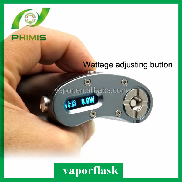 Newest adjustable/variable voltage ecig box mod vapor flask clone/vaporflask v2/vaporflask clone in stock