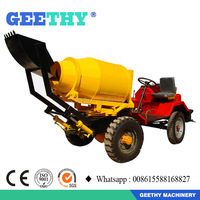 GT80 concrete mixer prices in india / self loading concrete mixer for sale