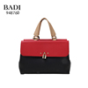 New Arrival Fake Leather Hardware Tote Multi Travel Bag Handbag Manufacture China