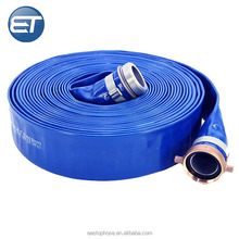 Agriculture Pvc 6 Inch Layflat Water Hose Pipe For Submersible Pump