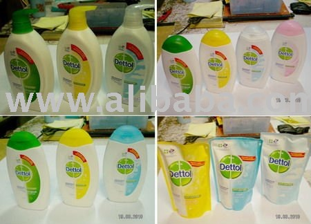 dettol shower foam