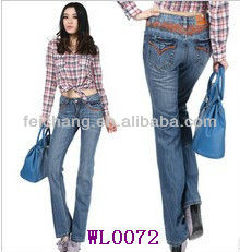 korean clothes latest office wear designs ladies fashion casual wears ladies boot cut jeans