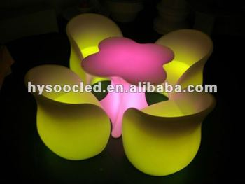 event led sofa/outdoor lighting sofa/lounge chair