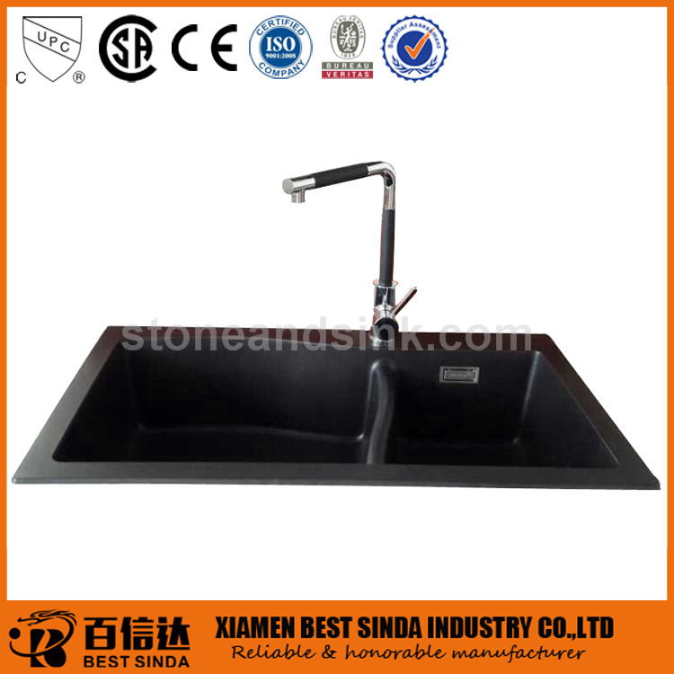 China discount composite granite kitchen sink