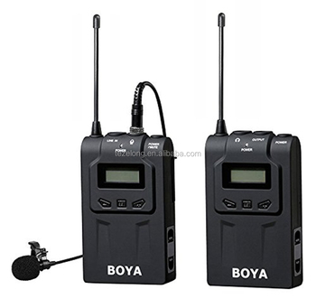 top sale BOYA wireless omni-directional lavalier microphone for canon Nikon camera BY-WM6