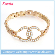 Round Stones Design Bracelet love bracelet 1 gram gold jewellery earn money online handcuffs